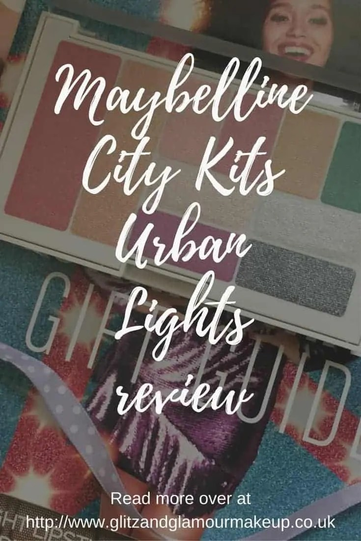 maybelline city kits urban lights palette review