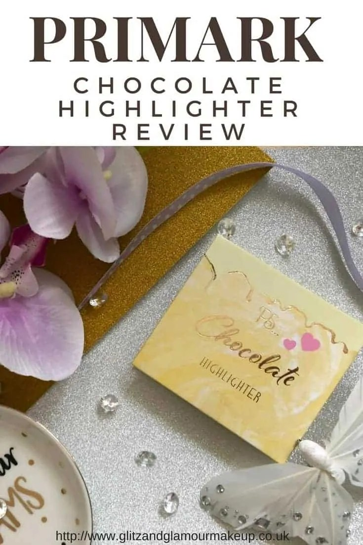 primark chocolate highlighter review
