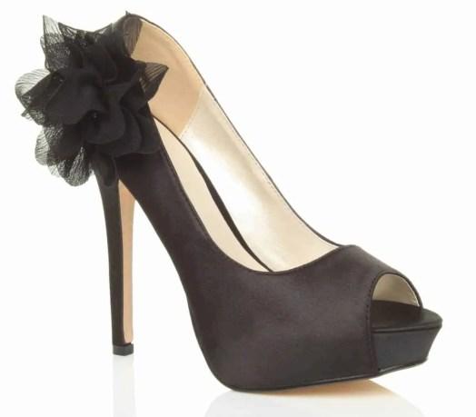 uppersole high heel flower platform shoes