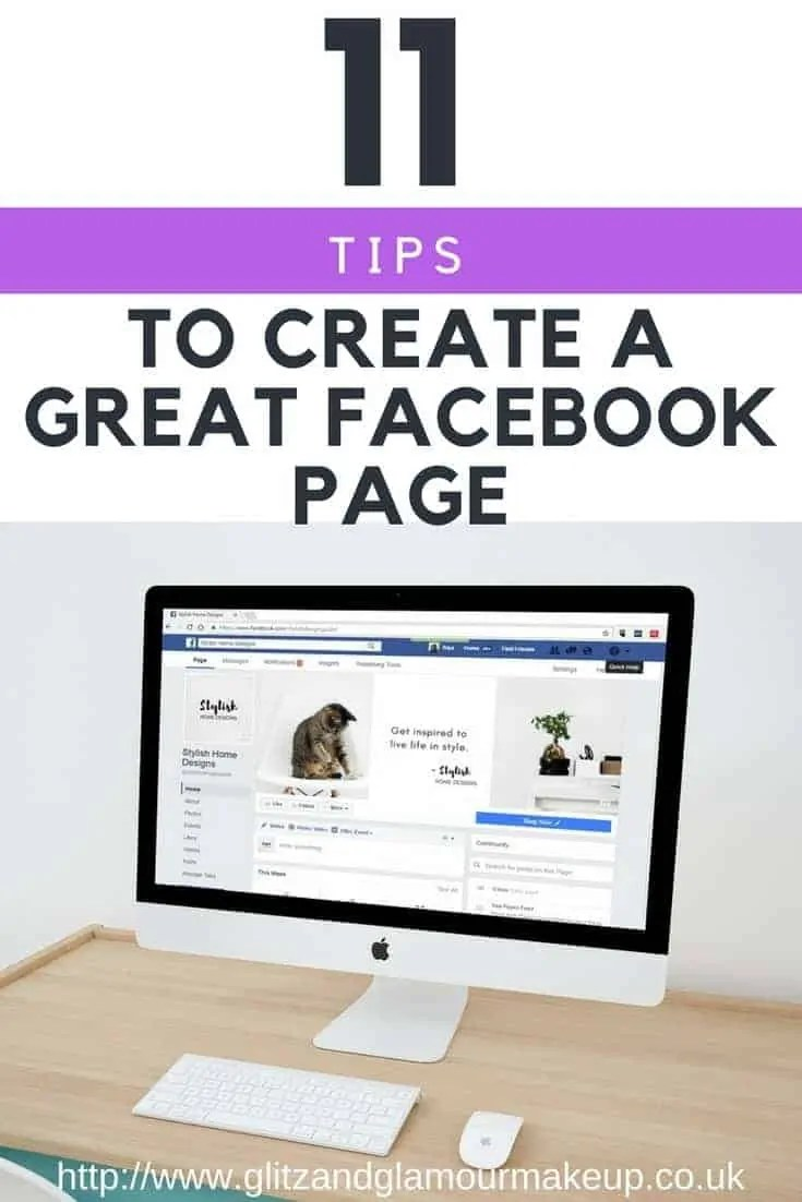 11 tips to create a great facebook page