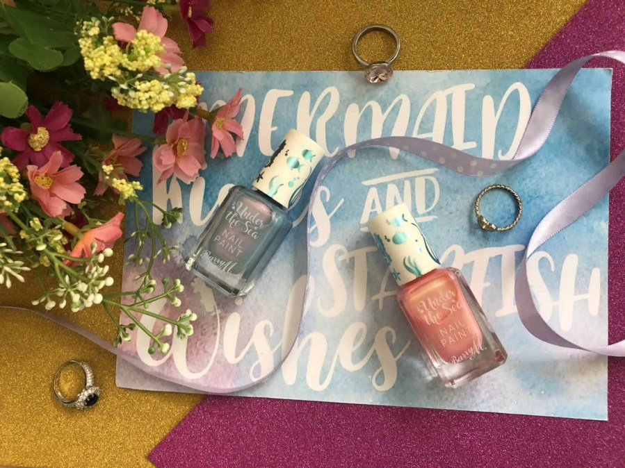 barry m under the sea nail varnishes