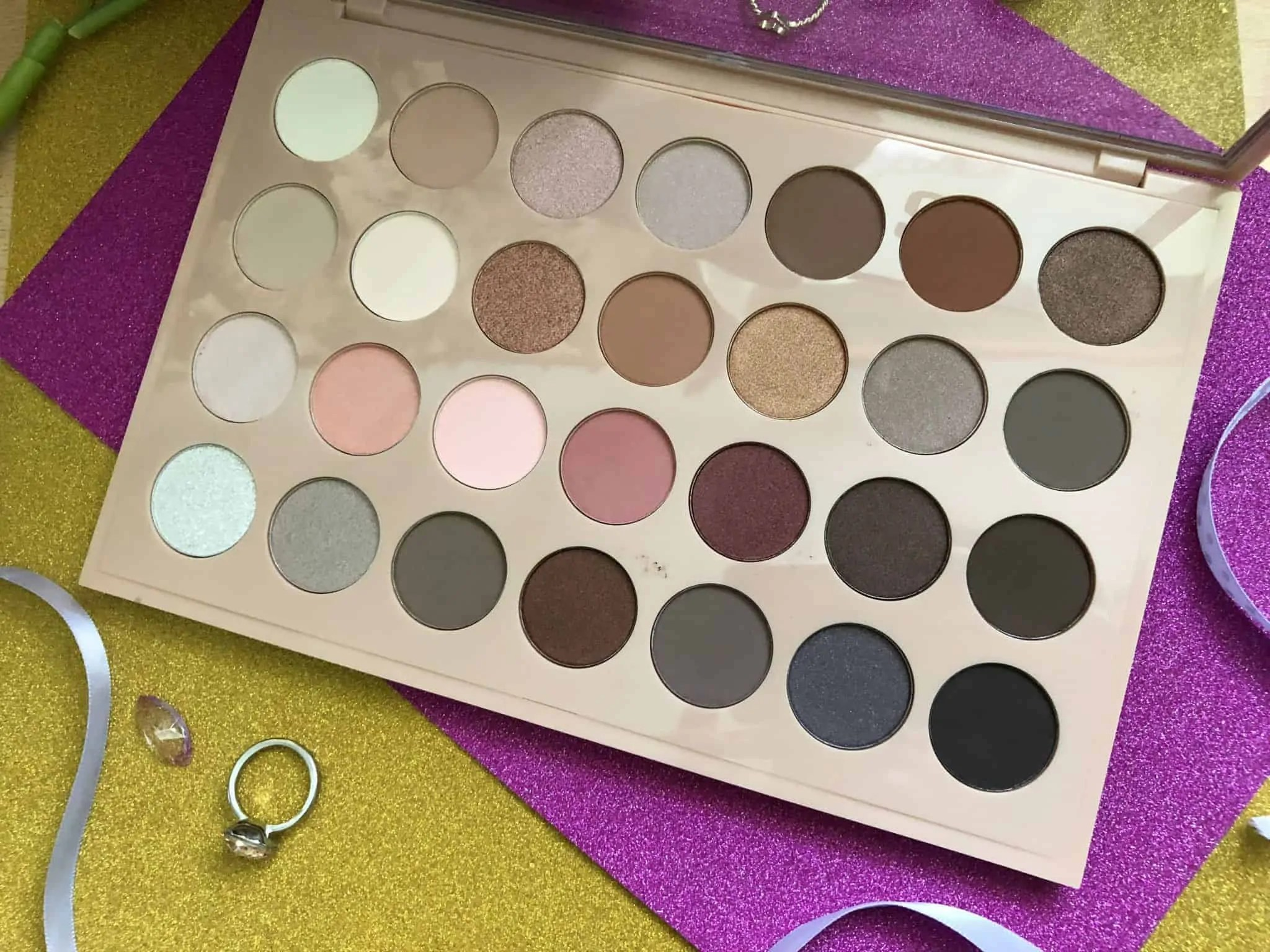 primark ps nudes eyeshadow palette shades