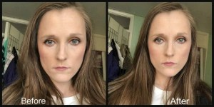 anastasia beverly hills amrezy highlighter before and after