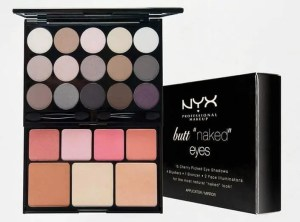 best beauty products to use when travelling nyx butt naked palette