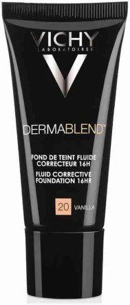 beauty 101 the best beauty products to treat four major skin concerns vichy dermablend fluid corrective foundation