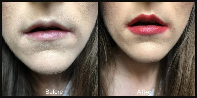 bourjois lip duo sculpt before and after