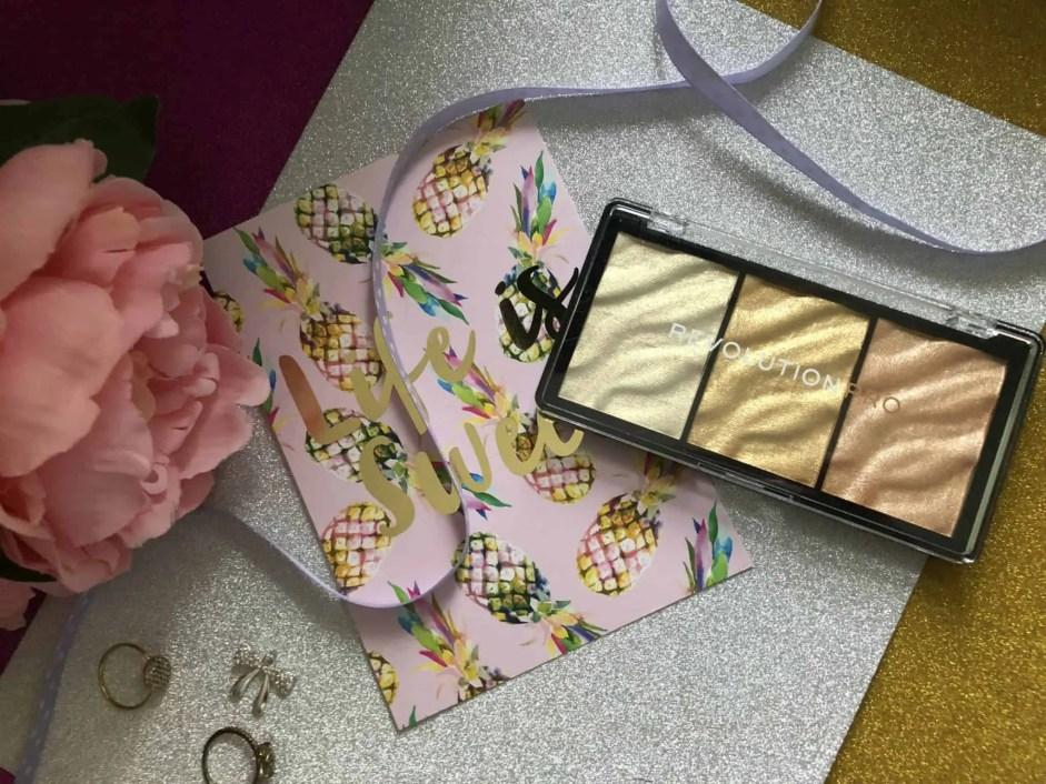 makeup revolution pro supreme highlighter gold