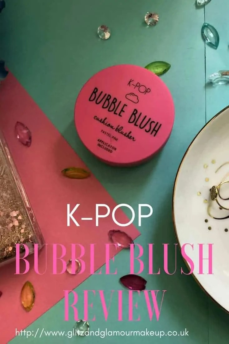 primark beauty k-pop bubble blush review