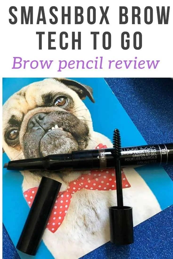 smashbox brow tech to go brow pencil review