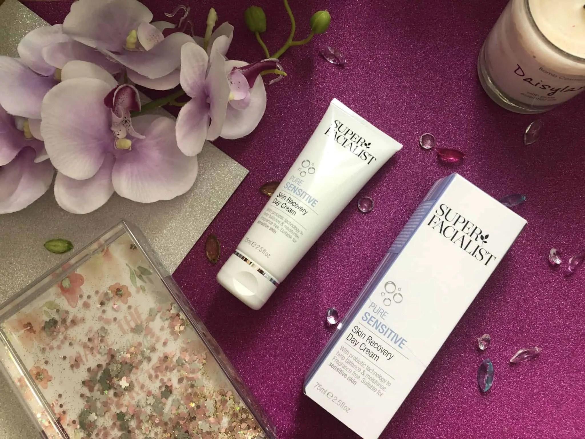 super facialist pure sensitive skin recovery day cream