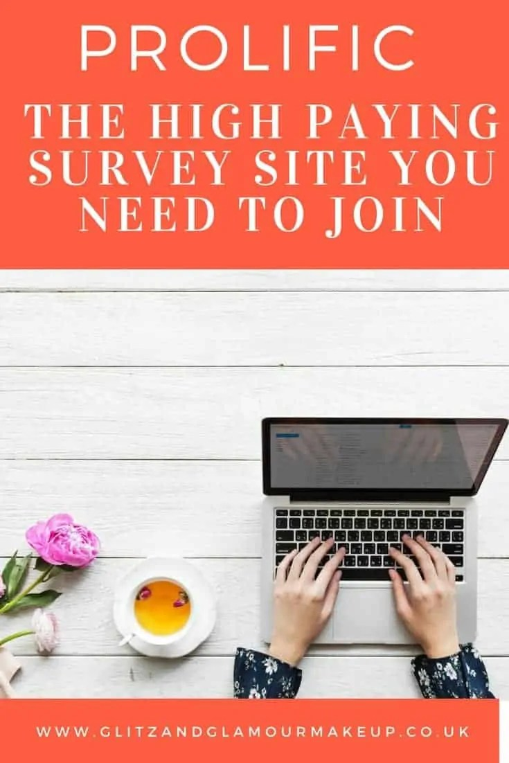 the high paying survey site you need to join prolific