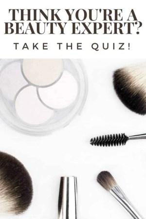 beauty expert quiz