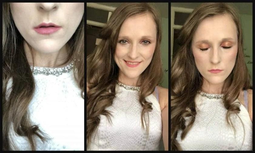 everyday summer makeup routine look