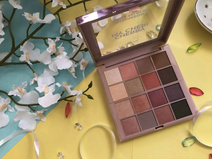 loreal cherry my cheri eyeshadow palette review 1