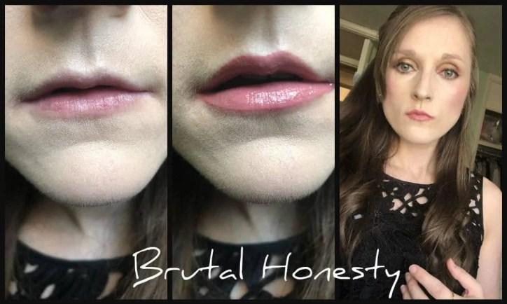 sleek lip shot in brutal honesty