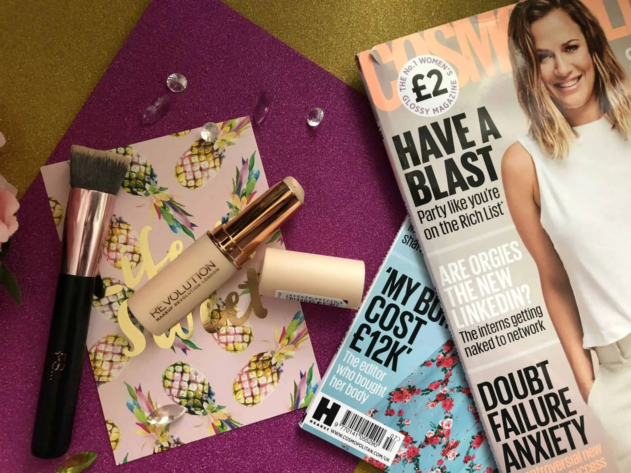 Speed up your morning routine with Revolution Fast Base makeup stick foundation