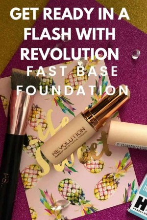 revolution fast base foundation review