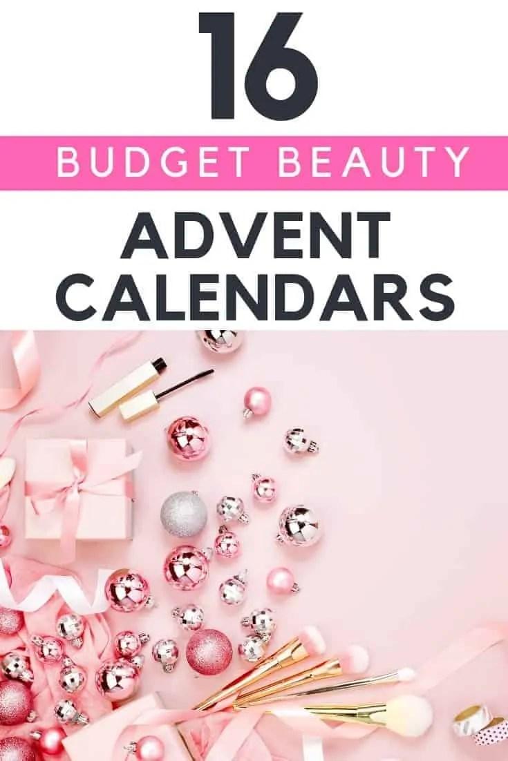 16 budget beauty advent calendars