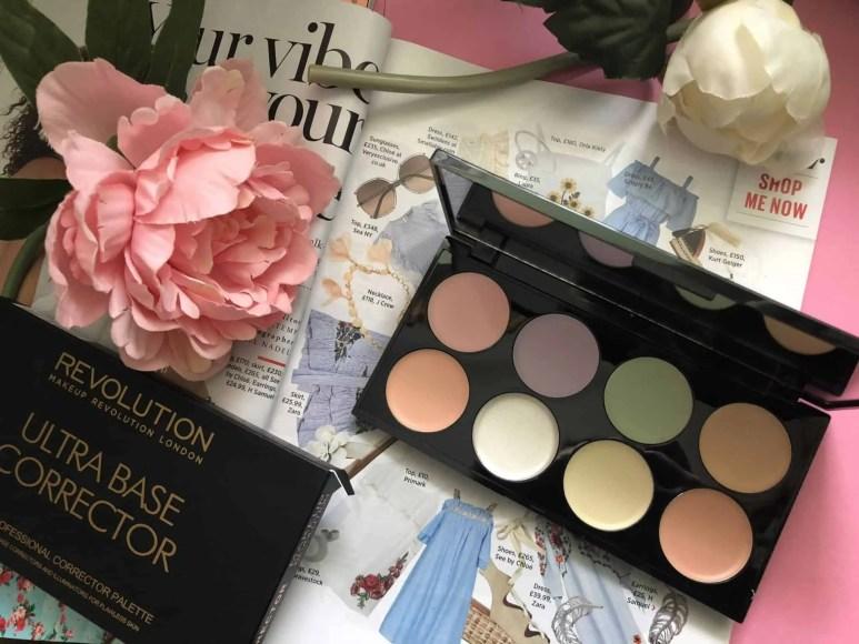 Makeup Revolution cosmetics massive makeup palette competition ultra base corrector palette