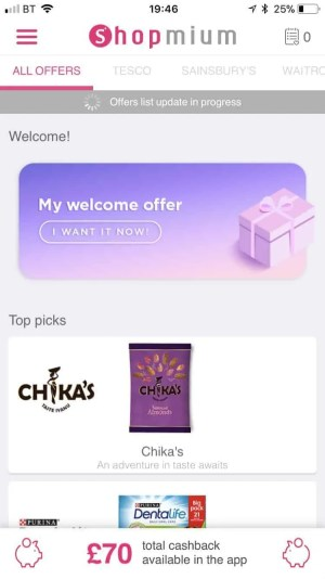The cash back shopping apps that reward you for doing your daily shop shopmium