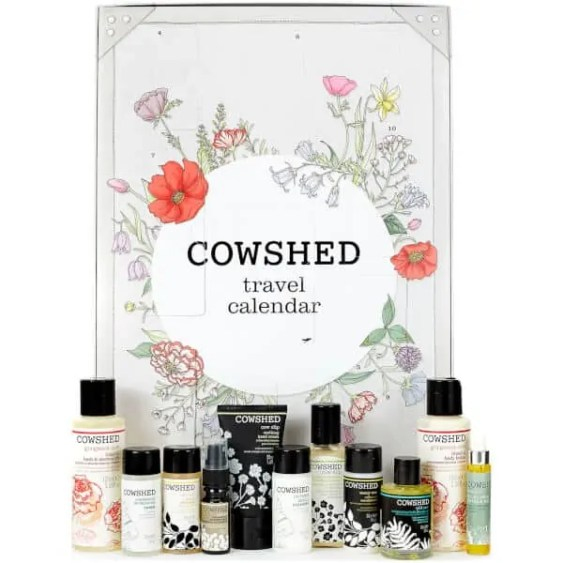 the best value beauty advent calendars £50 or under cowshed calendar