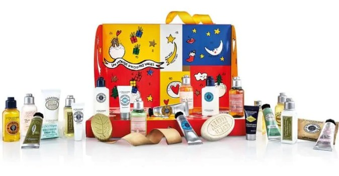 the best value beauty advent calendars £50 or under loccitane
