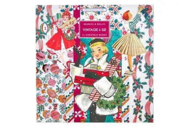 the best value beauty advent calendars £50 or under vintage and co baubles and belles