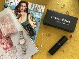 experience a new perfume every month with the fragrance shop scentaddict subscription