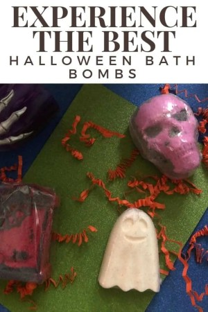 experience the best halloween collection bath bombs