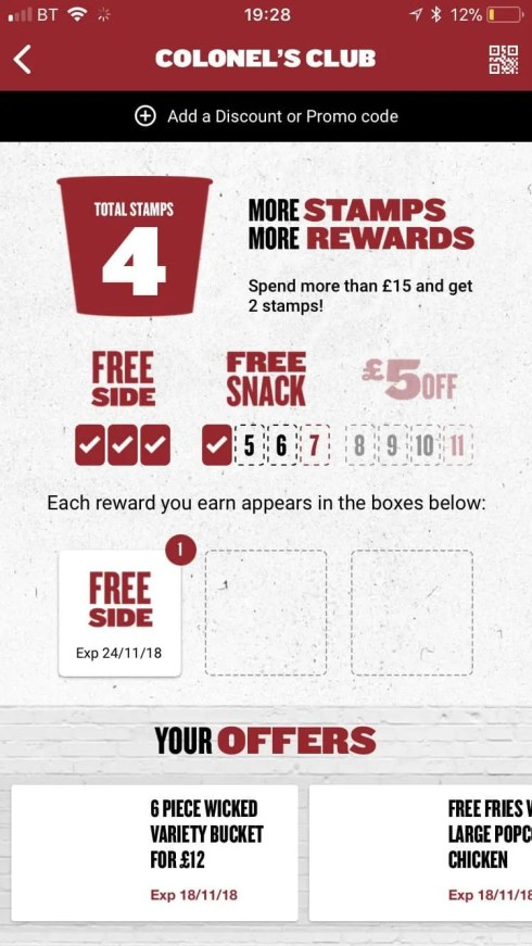 how to get fast food for free kfc