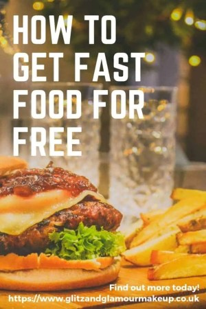 how to get fast food for free