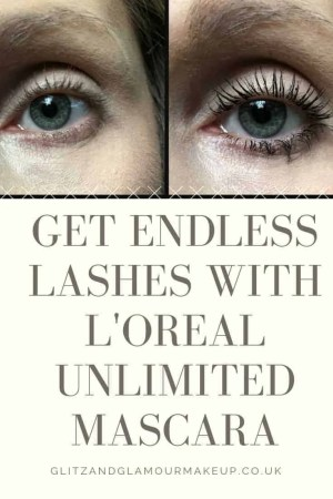 get endless lashes with loreal unlimited mascara