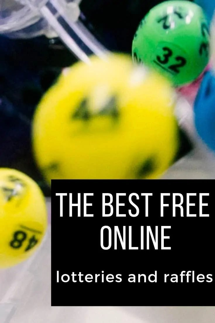 the best free online lotteries and raffles