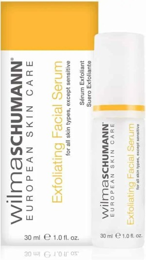 ultimate skincare products for oily skin wilma schumann exfoliating facial serum