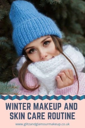 winter makeup and skin care routine