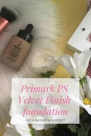 primark ps velvet finish foundation review