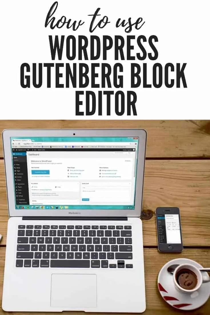 how to use wordpress block editor 6