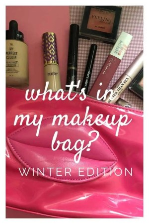 what's in my makeup bag winter edition