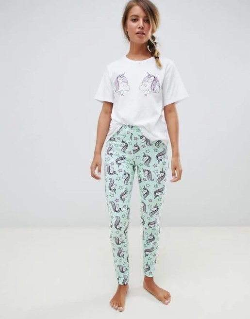 embrace your inner unicorn with 10 fashion and beauty must haves asos pajamas set