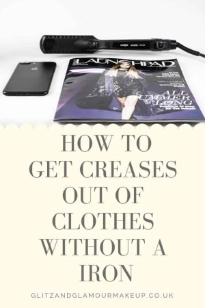 how to get creases out of clothes without a iron