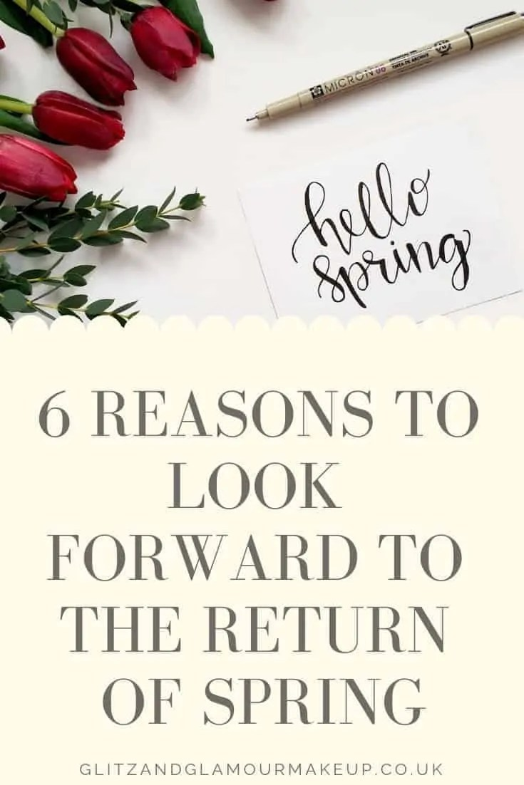 6 reasons to look forward to the return of spring