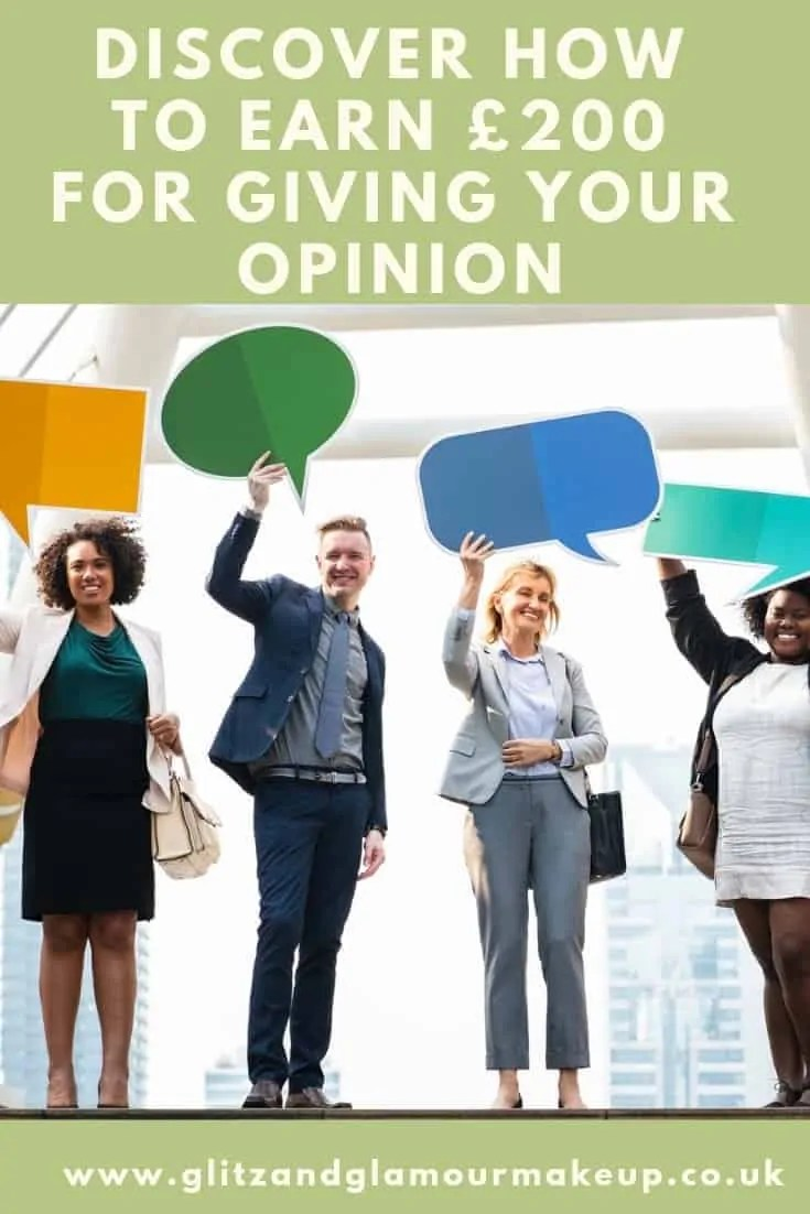 earn £200 for giving your opinion in focus groups