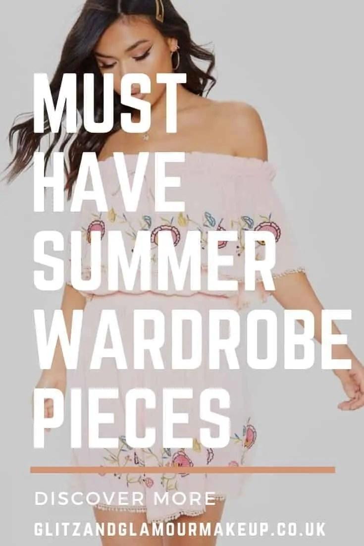 must have summer wardrobe pieces