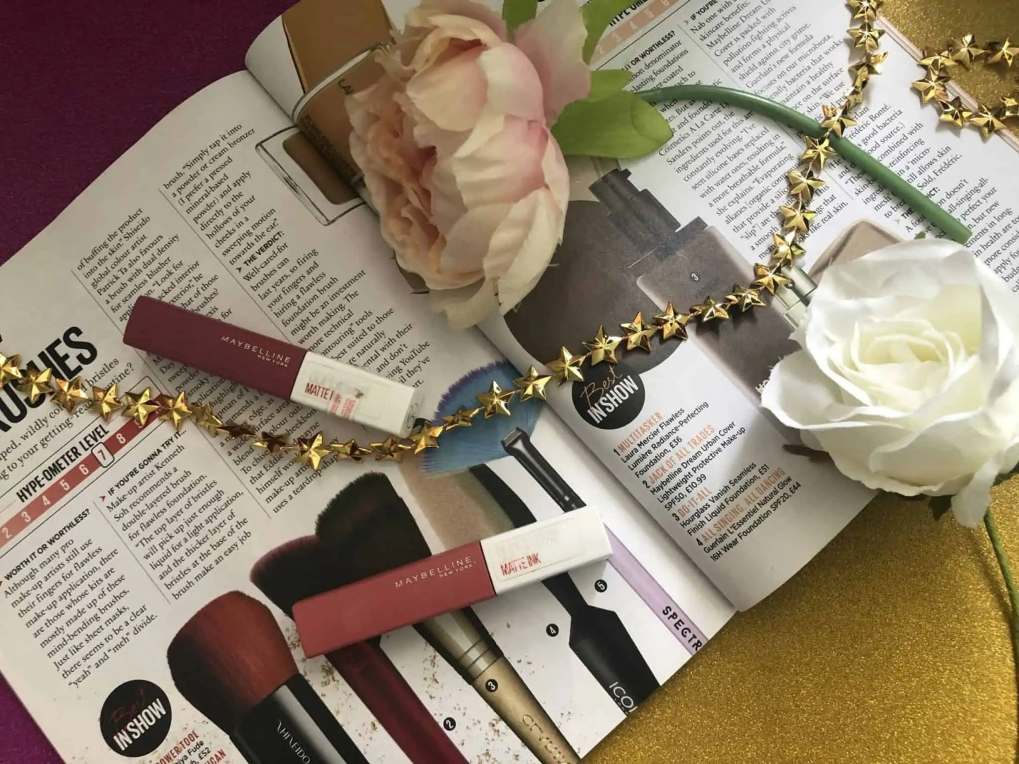 Weekly favourites Five things I'm loving this week maybelline matte ink lipsticks