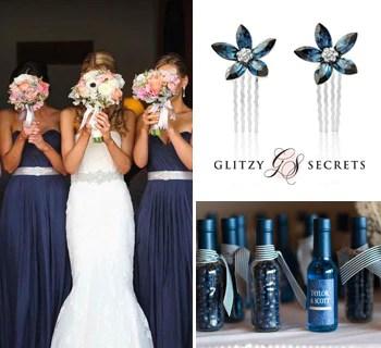 Classic Navy And Silver Wedding Ideas Glitzy Secrets