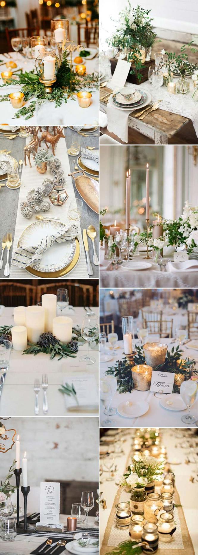 Table Decorations For Christmas Wedding Best Dinner Ideas On