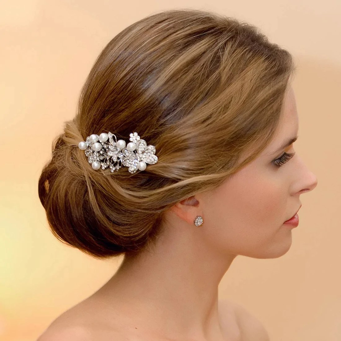 Exquisite Butterfly Wishes Hair Comb Glitzy Secrets