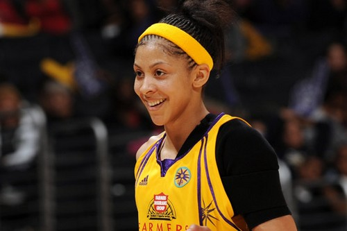 Candace Parker Hot Young Women Champions