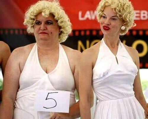 Bizarre Photos of Blonde Girls