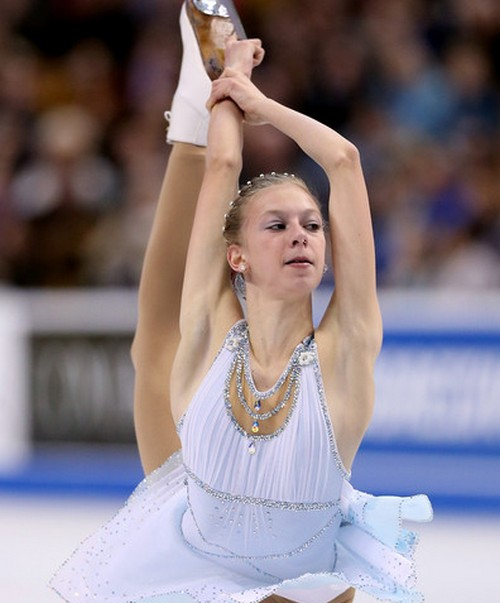 Polina Edmunds Sexy